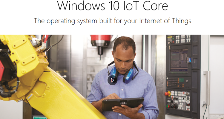 Windows 10 Internet of Things project