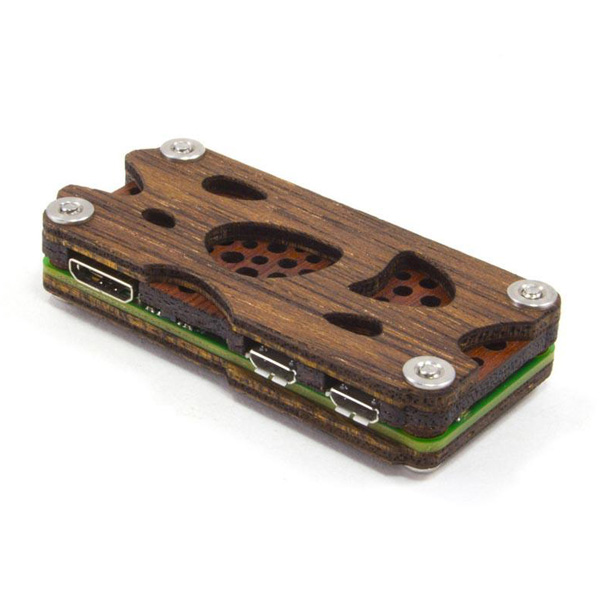 raspberry pi zero wood case