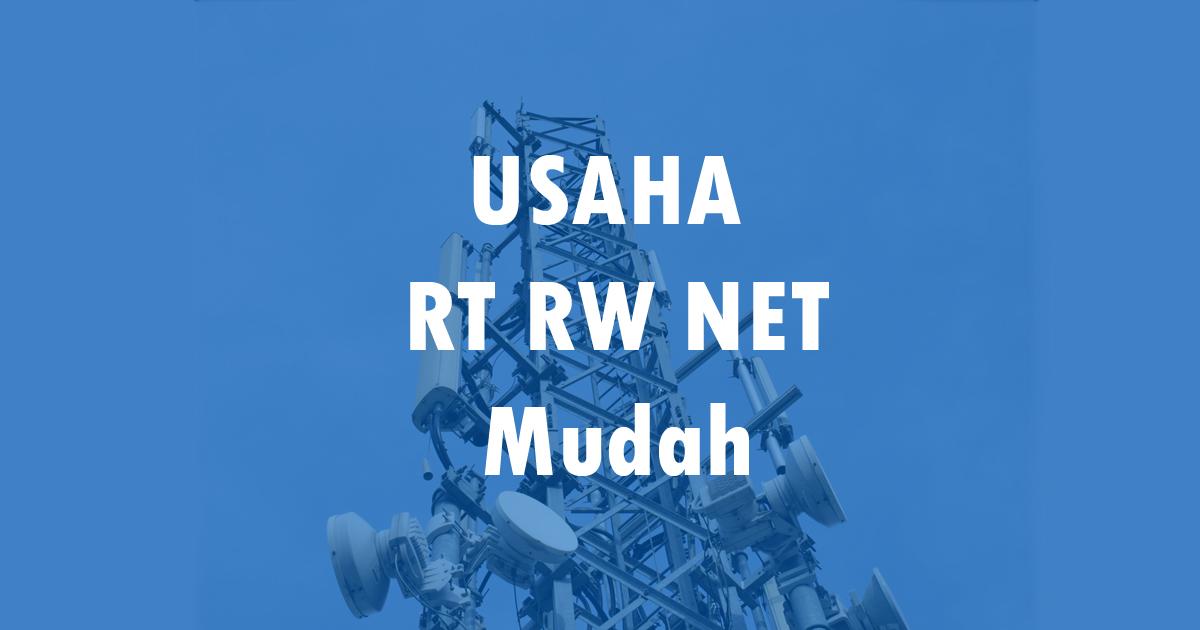 membangun usaha rt rw net