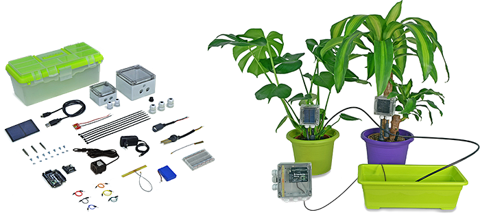 hydroponic control and monitoring system
