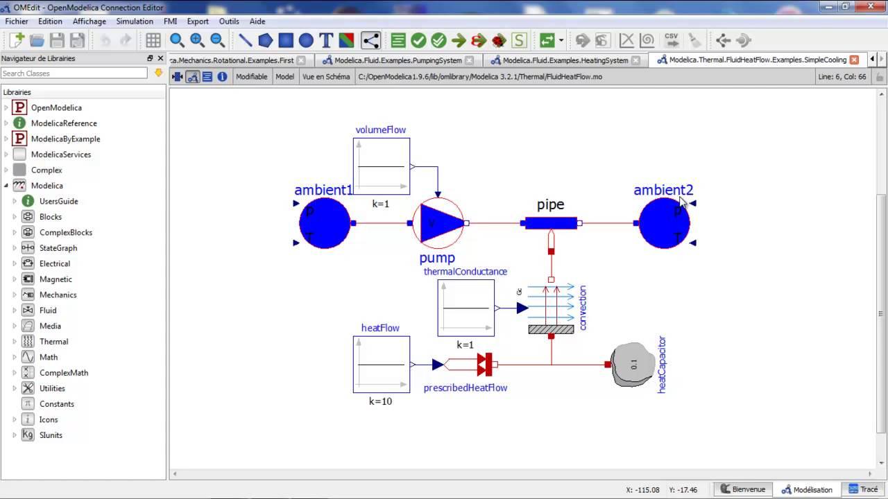 OpenModelica - software simulasi belajar mekatronika