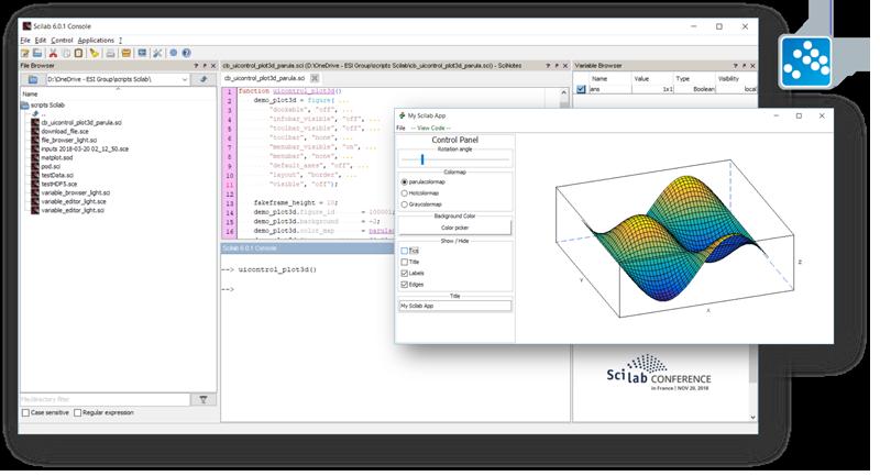 Scilab - software simulasi belajar mekatronika