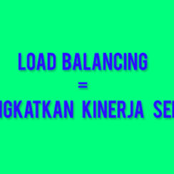 apa itu load balance