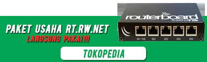 Paket Usaha RT RW NET Mikrotik rb450g iklan toped